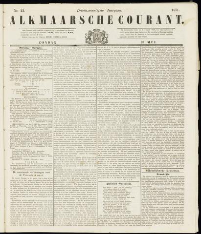 Alkmaarsche Courant 1871-05-28