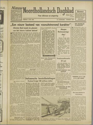 Nieuw Noordhollandsch Dagblad : voor Alkmaar en omgeving 1946-07-05