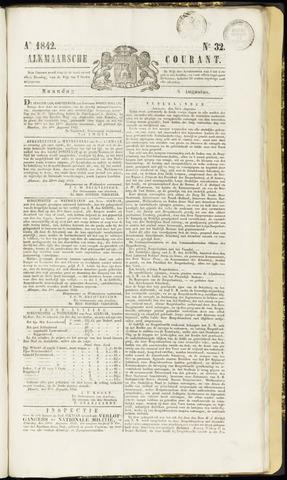 Alkmaarsche Courant 1842-08-08