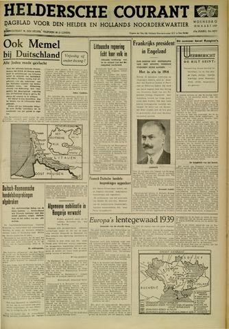 Heldersche Courant 1939-03-22