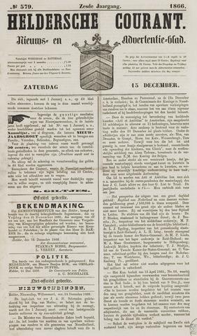 Heldersche Courant 1866-12-15