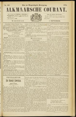 Alkmaarsche Courant 1894-09-05