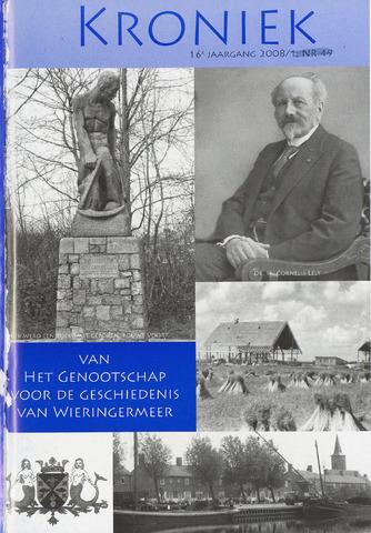 Kroniek Historisch Genootschap Wieringermeer 2008-04-01