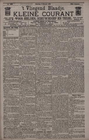 Vliegend blaadje : nieuws- en advertentiebode voor Den Helder 1896-02-08