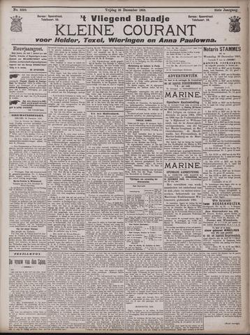 Vliegend blaadje : nieuws- en advertentiebode voor Den Helder 1903-12-26