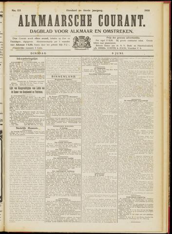 Alkmaarsche Courant 1908-06-09