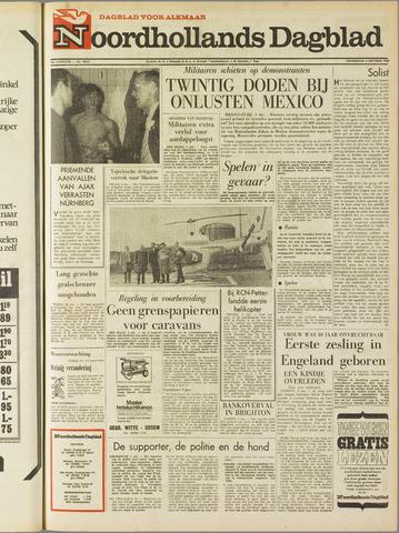 Noordhollands Dagblad : dagblad voor Alkmaar en omgeving 1968-10-03