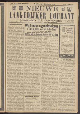 Nieuwe Langedijker Courant 1927-12-01