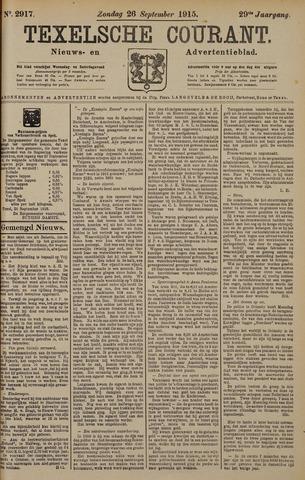 Texelsche Courant 1915-09-26