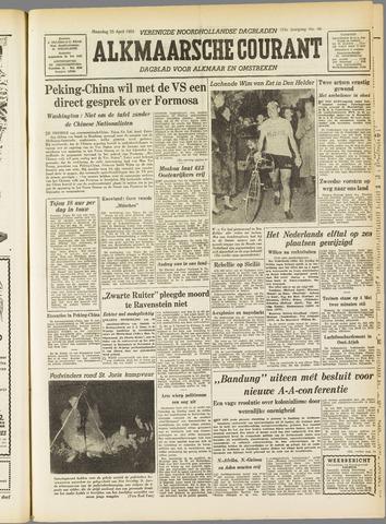 Alkmaarsche Courant 1955-04-25
