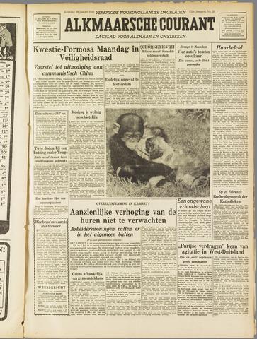Alkmaarsche Courant 1955-01-29