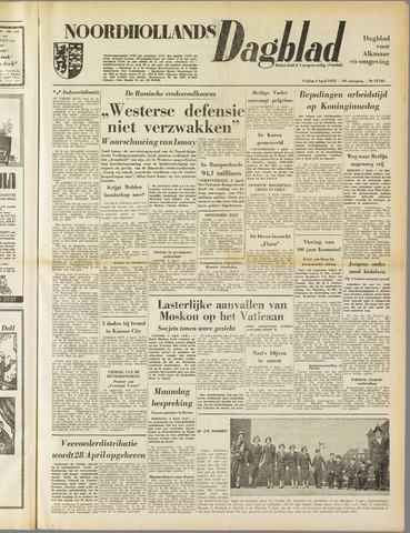 Noordhollands Dagblad : dagblad voor Alkmaar en omgeving 1953-04-03