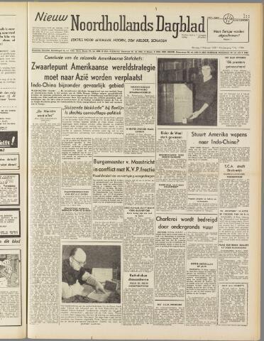 Nieuw Noordhollandsch Dagblad : voor Alkmaar en omgeving 1950-02-14
