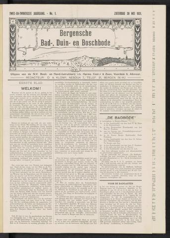 Bergensche bad-, duin- en boschbode 1931-05-30