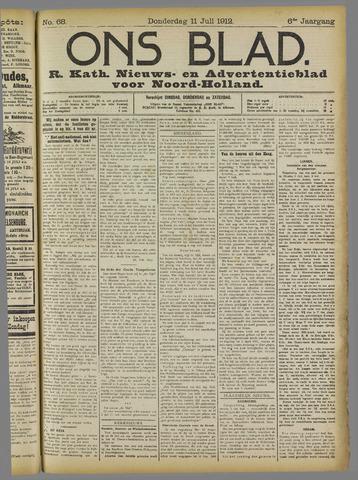 Ons Blad : katholiek nieuwsblad voor N-H 1912-07-11