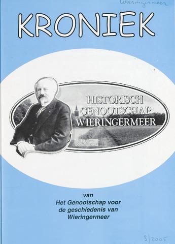 Kroniek Historisch Genootschap Wieringermeer 2005-12-01