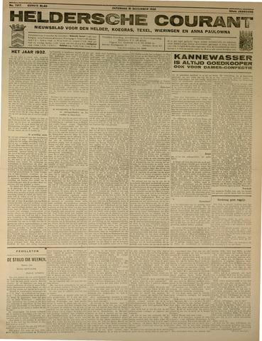 Heldersche Courant 1932-12-31