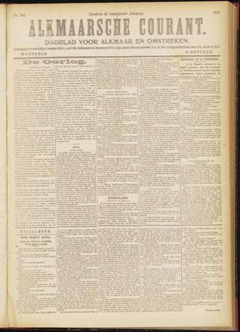 Alkmaarsche Courant 1917-10-17