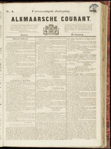 Alkmaarsche Courant 1862-01-26