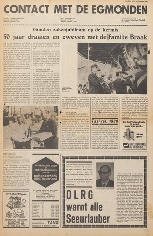 Contact met de Egmonden 1971-07-14