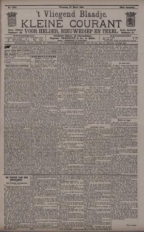 Vliegend blaadje : nieuws- en advertentiebode voor Den Helder 1895-03-27