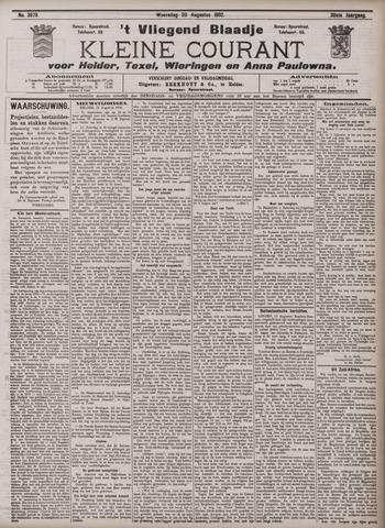 Vliegend blaadje : nieuws- en advertentiebode voor Den Helder 1902-08-20