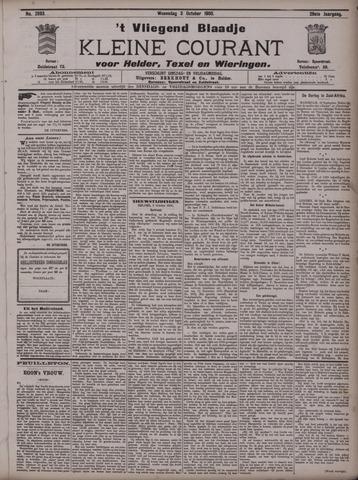 Vliegend blaadje : nieuws- en advertentiebode voor Den Helder 1900-10-03
