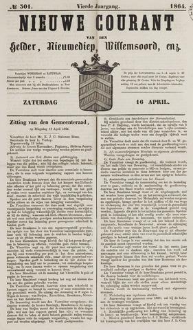 Nieuwe Courant van Den Helder 1864-04-16