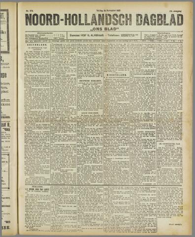 Ons Blad : katholiek nieuwsblad voor N-H 1922-11-24
