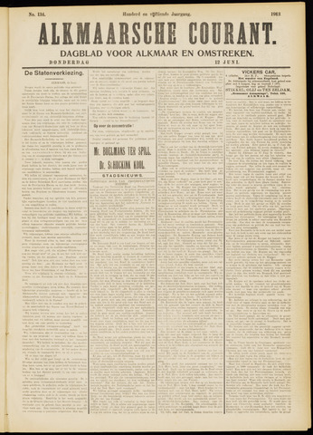 Alkmaarsche Courant 1913-06-12