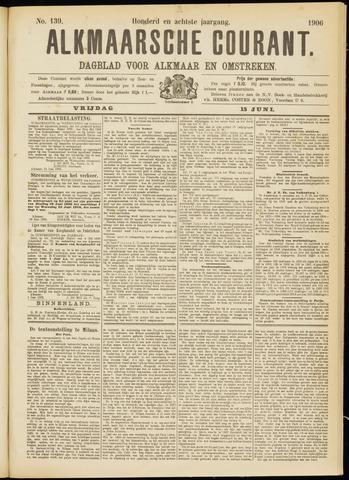 Alkmaarsche Courant 1906-06-15