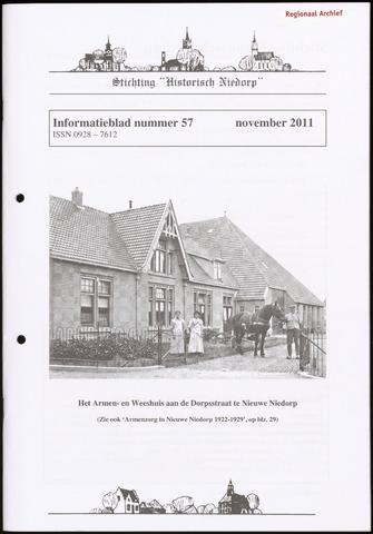 Informatieblad stichting Historisch Niedorp 2011-11-01