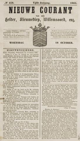 Nieuwe Courant van Den Helder 1865-10-18