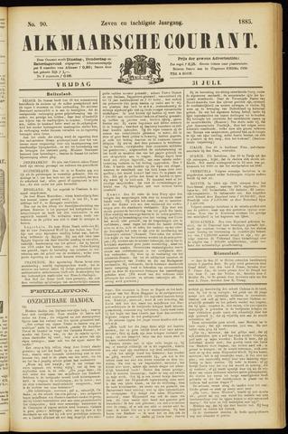 Alkmaarsche Courant 1885-07-31