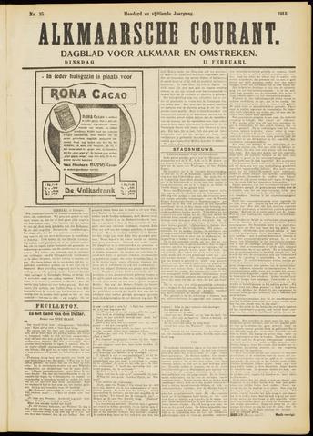 Alkmaarsche Courant 1913-02-11