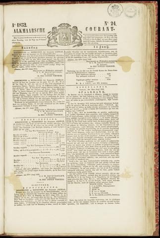 Alkmaarsche Courant 1852-06-14