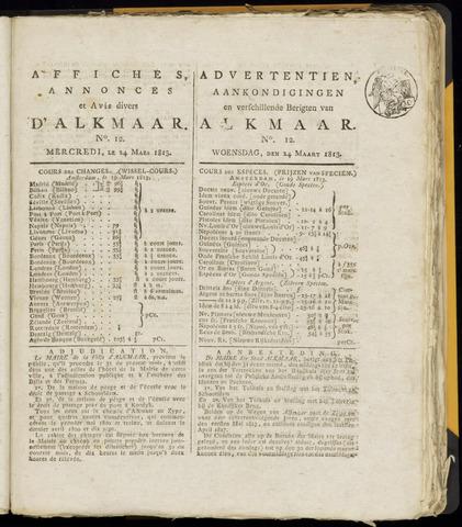Alkmaarsche Courant 1813-03-24