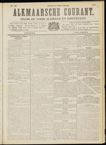 Alkmaarsche Courant 1908-12-01