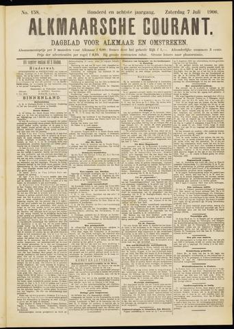 Alkmaarsche Courant 1906-07-07