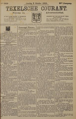 Texelsche Courant 1915-10-03