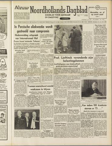 Nieuw Noordhollandsch Dagblad : voor Alkmaar en omgeving 1951-07-05