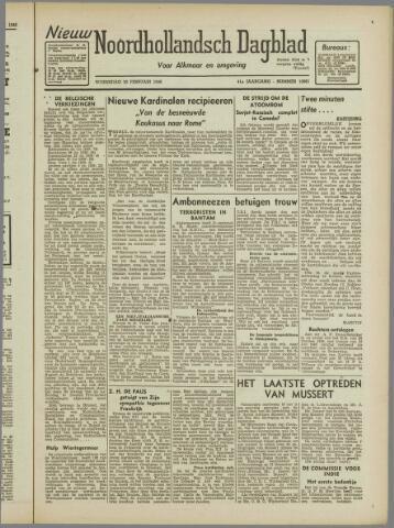 Nieuw Noordhollandsch Dagblad : voor Alkmaar en omgeving 1946-02-20