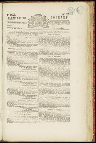 Alkmaarsche Courant 1852-08-09