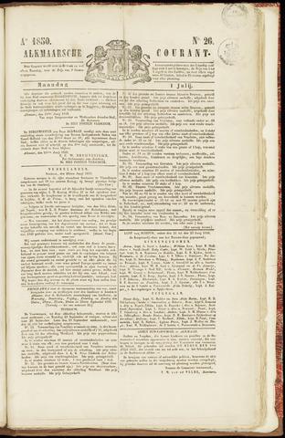 Alkmaarsche Courant 1850-07-01