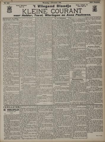 Vliegend blaadje : nieuws- en advertentiebode voor Den Helder 1906-11-07