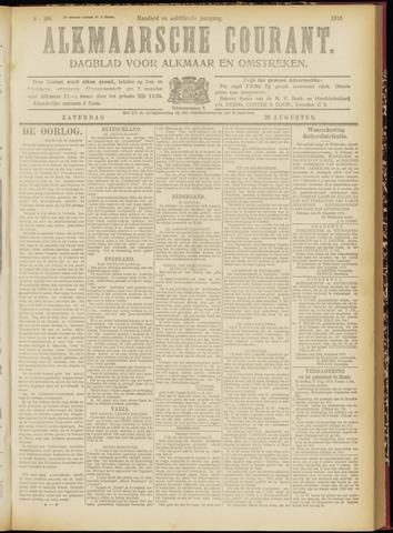 Alkmaarsche Courant 1916-08-26