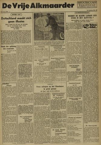 De Vrije Alkmaarder 1947-01-22