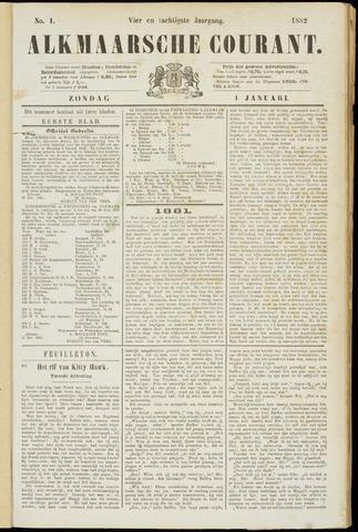 Alkmaarsche Courant 1882-01-01