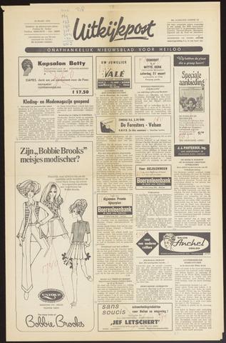Uitkijkpost : nieuwsblad voor Heiloo e.o. 1970-03-18
