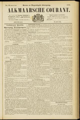 Alkmaarsche Courant 1895-06-09